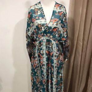 Umgee Maxi length coverup/dress
